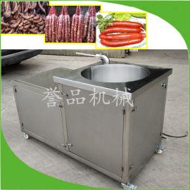 液压灌制加工全自动不锈钢灌肠机,全自动灌肠机有视频