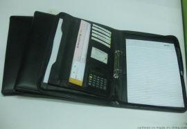 厂家定制生产商务外贸文件夹 PVC经理夹 皮质文件夹 a4
