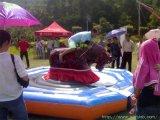 新款熱銷大型廣場戶外兒童室內公園遊樂設備設施 瘋狂鬥牛機氣墊