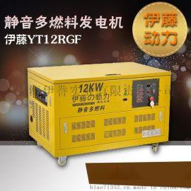 12KW天然氣發電機組