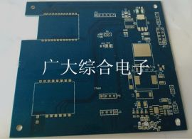 深圳广大电路板, 双面蓝油板, 沙井线路板厂, 双层PCB板, 价格优惠