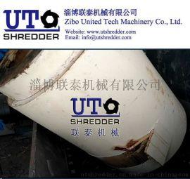 双轴撕碎机/木桶撕碎机/包装桶撕碎机/大型木桶破碎机/木材粉碎机