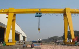江苏10吨、16吨MH型电动葫芦门式起重机—中原起重