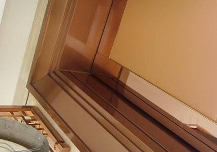 玫瑰金不锈钢包边线定做,不锈钢产品电镀,雕刻不锈钢门套