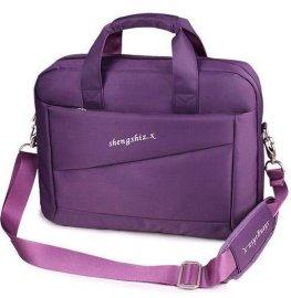 新款14寸笔记本电脑包韩版女士可爱商务时尚手提包单肩男士包袋