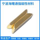 加工定制钕铁硼磁材 镀金梯形 定做磁铁强力钕铁硼磁铁