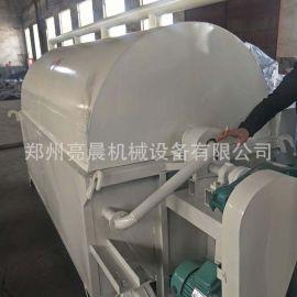 全自动不锈钢板栗炒货机 滚筒瓜子菜籽炒籽机 电加热炒锅机