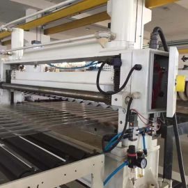 PVC多层瓦楞板生产线