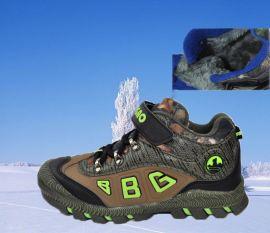步步高儿童棉鞋运动鞋冬季登山鞋