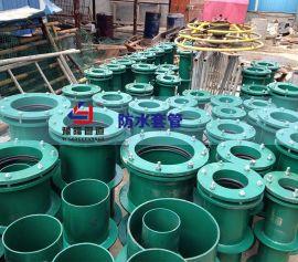 武汉防水套管柔性防水套管施工人员依据现场测绘草图做出进一步分析