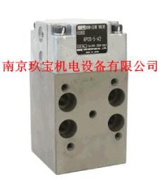 APCO-5-A2日本SR电磁阀SR06309D-A2油泵原装