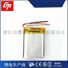 802438 聚合物锂电3.7v 800mah充电锂电池自行车尾灯锂电池