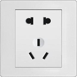 BXDQ八喜电气厂家直销暗装国标孔墙壁插座面板