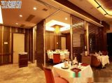 可成隔斷|上海國際酒店歐式軟包可收藏移動摺疊門