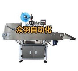 广州 湖南 全自动立式贴标机 立式圆瓶贴标机 众羽自动化