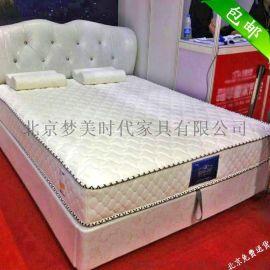 主题酒店专用乳胶透气席梦思弹簧床垫