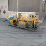 DR65噴淋通過式洗筐機 得爾潤定做去油污洗筐設備