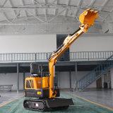 多功能迷你小挖机 建筑工程小型挖掘机 农用挖掘机