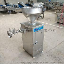气动定量扭结灌肠机   自动打结灌肠机