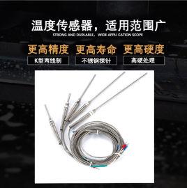 K型热电偶探头温度传感器 测温线 感应器 感温线