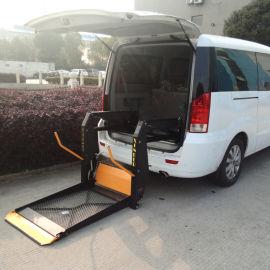 商务车电动双臂轮椅升降台辅助残疾人上下车无障碍装置