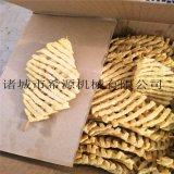河南蘭花串油炸機產量 自動刮渣豆腐串油炸機廠家