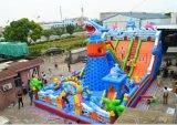 浙江省儿童充气大滑梯项目行情