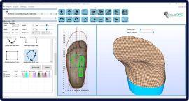 深圳原典科技公司iSoleCAD矯形鞋墊軟件