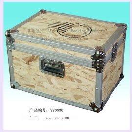 出口歐洲實鬆木訂制航空箱,家俱佇物箱