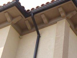 津耐斯彩铝天沟檐槽、彩铝落水系统