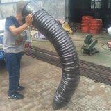 厂家专业生产耐温伸缩管 输水夹布胶管规格齐全