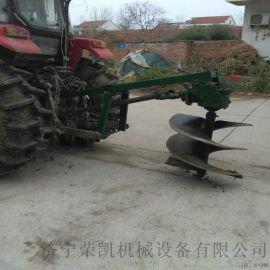 柴油挖坑机 山东种树挖坑机厂家 大马力汽油机挖坑机