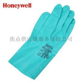 霍尼韦尔honeywell 内层消毒丁腈防化手套 耐磨 LA172G