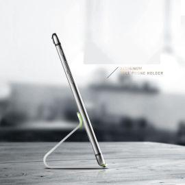 鋁合金平板手機底座桌面牀頭便攜懶人支架定製加logo
