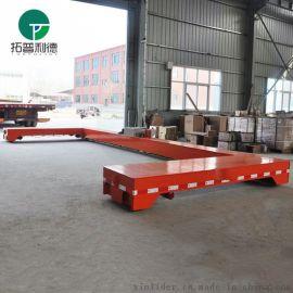 新利德轨道检修车30t拖线式供电轨道运载车