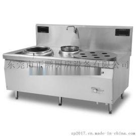 电磁小炒大炒组合炉 节能两用炒炉 厨房灶具生产厂家