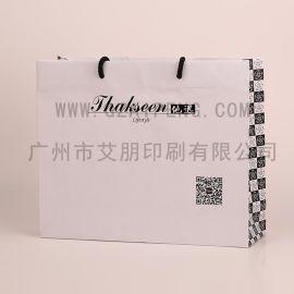 厂家批发服装手提纸袋 定做白卡纸袋 礼品包装袋 牛皮纸袋购物袋