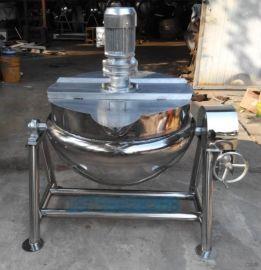 可倾斜夹层锅 蒸汽夹层锅