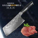 陽江惠利6.7寸大馬士革不鏽鋼切片刀菜刀