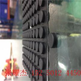 昆山透明胶垫、透明防滑垫、半球形透明硅胶垫
