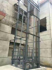 鸡西市卷门升降货梯启运液压货梯载货电梯厂家