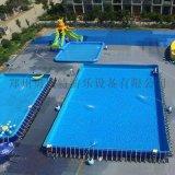 遼寧大連大型水上樂園熱銷移動水上樂園