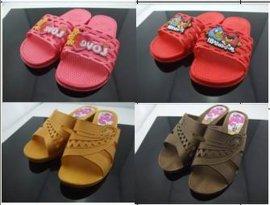 吹气拖鞋(PVC)