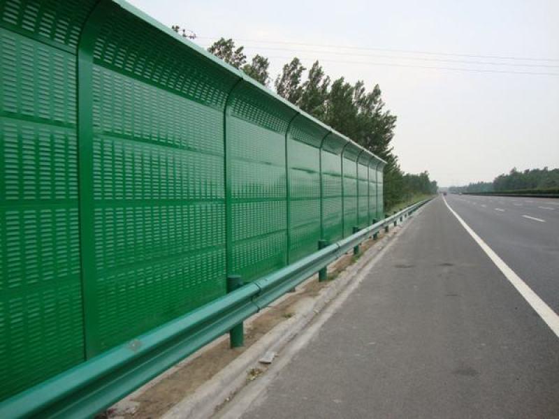 成都公路聲屏障/金屬板聲屏障/百葉孔聲屏障
