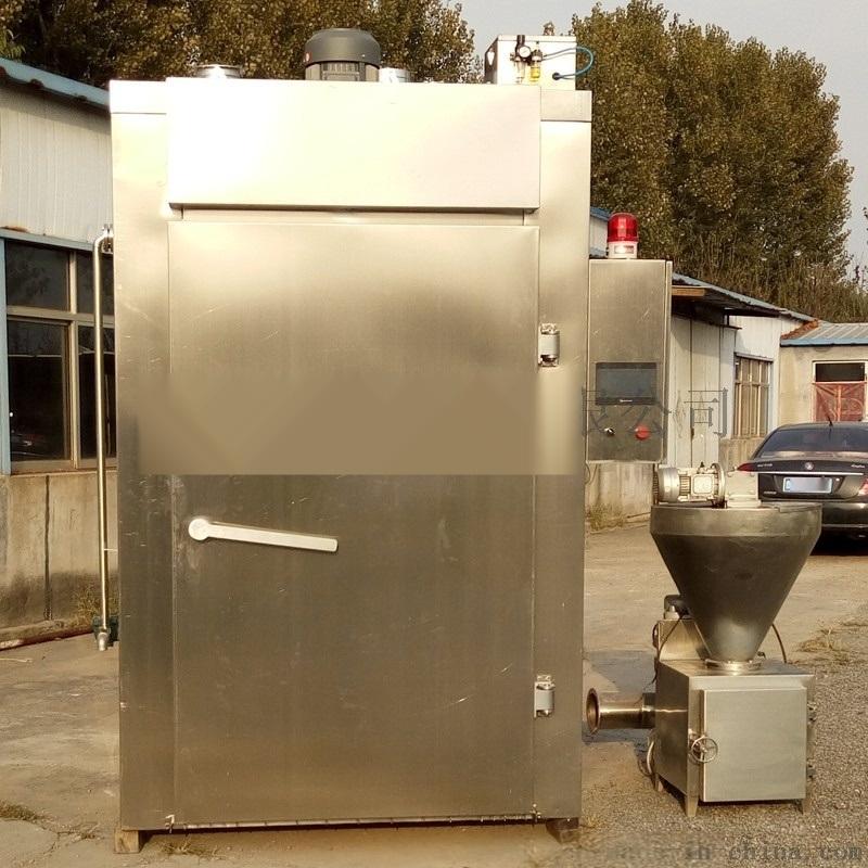 誉品厂家定制多功能蒸煮炉出口腊肠熏鱼大型烟熏炉