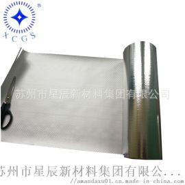 浙江供应防水铝箔复合编织布 VMPET镀铝膜编制布