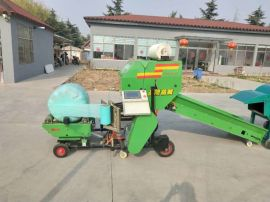 玉米秸秆青贮打包机,5552青储包膜机