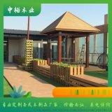 重庆沙坪坝防腐木葡萄架、花格、中式门窗围栏定做厂家