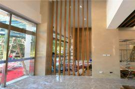 欧式风格型材木纹铝方管 仿古建筑外墙隔断铝方管