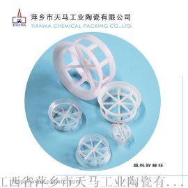 反应塔/脱气塔/脱硫塔专用塑料阶梯环填料